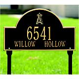 Arched Lawn Plaque-MLB