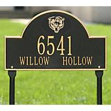 Arched Lawn Plaque-NFL