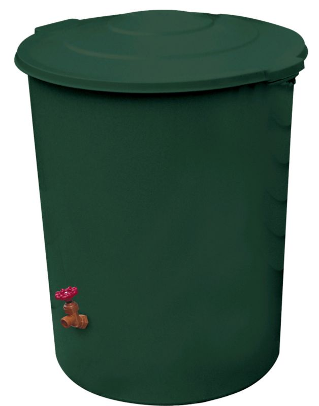The Rescue™ Deluxe Rain Barrel - 60 Gallon