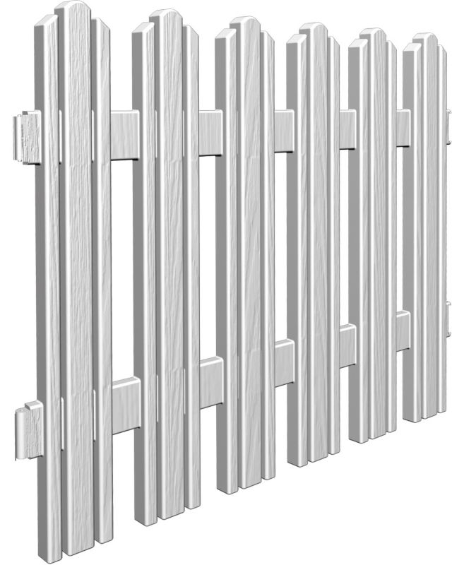 Dackers Adirondack Sytle Resin Fence