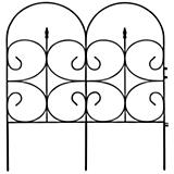 Victorian Black Fence