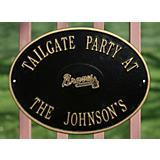 MLB Tailgate Oval Plaque