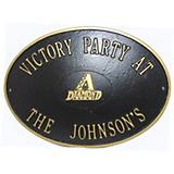 MLB Victory Oval Plaque