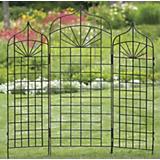 H. Potter Large Ogee Metal Garden Trellis