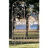 H. Potter Leaf Metal Arch Trellis