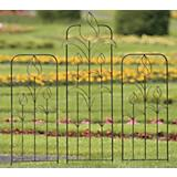 H. Potter Rose Metal Garden Trellis