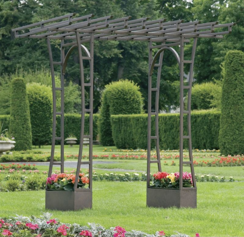 how to build an arbour ut of branchesd