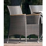 Wicker Wonderful Teak Topped Dining Chair