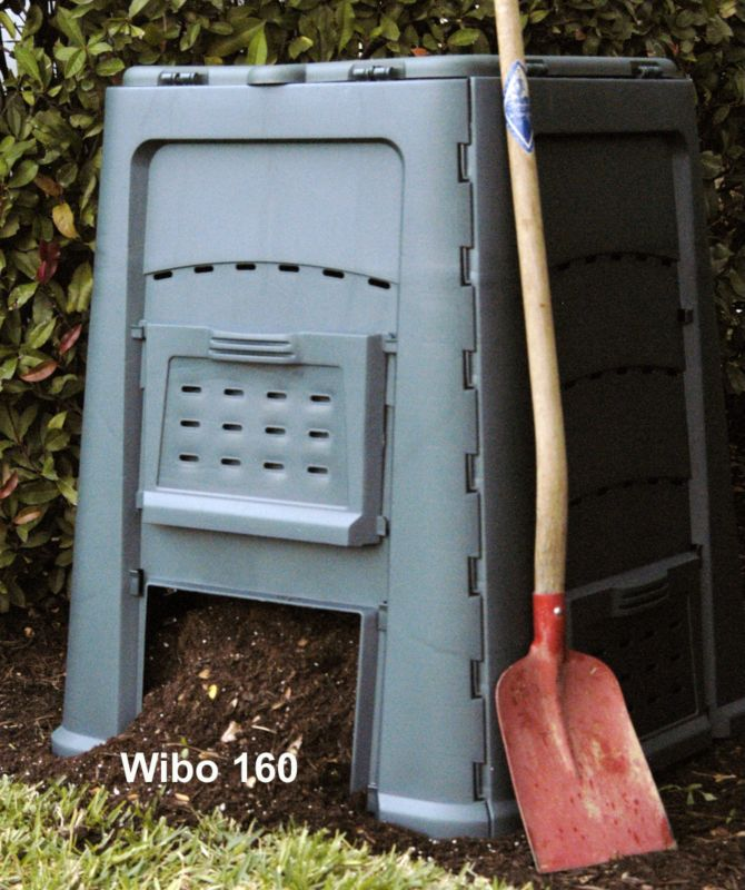 Wibo Composter green/grey 110 gal