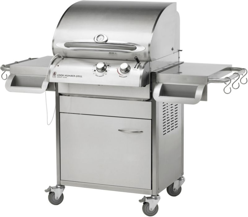 Cook Number Grill - Deluxe Cabinet 24in