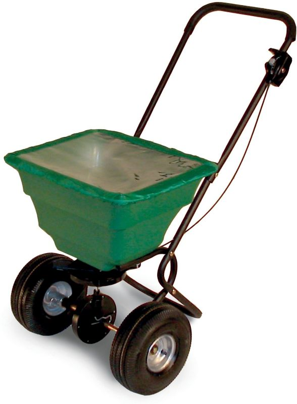 Broadcast Spreader 130 lb w-Rain Cover