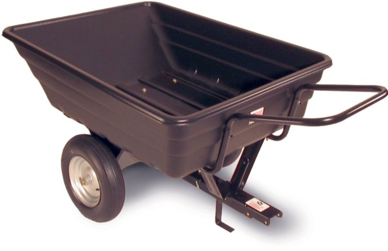 Push-Pull Poly Cart 10 cu ft