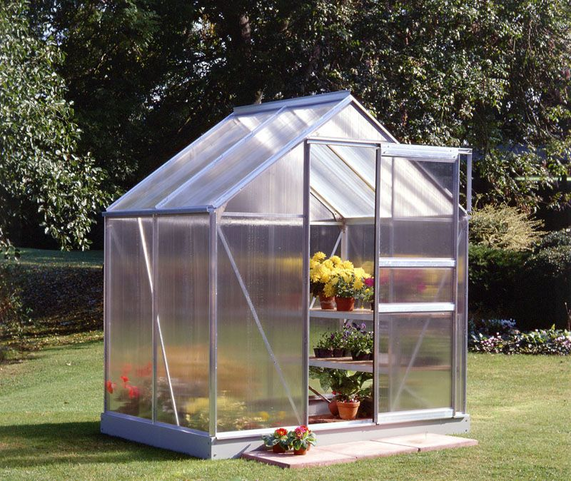 Halls Popular 46 Greenhouse Aluminum