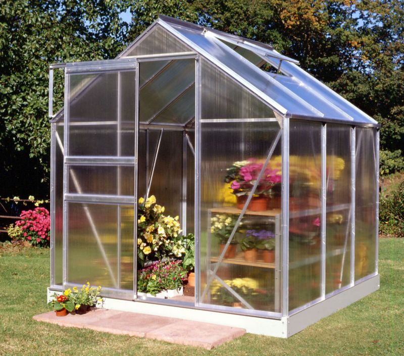 Halls Popular 66 Greenhouse Aluminum