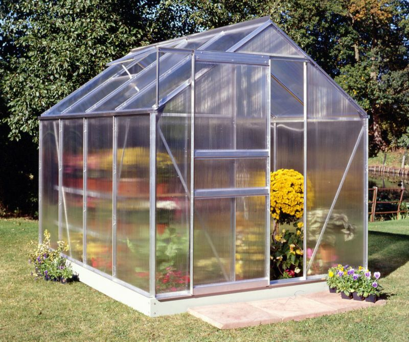 Halls Popular 86 Greenhouse Aluminum