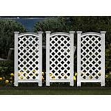 New England Arbors Luxembourg Vinyl Privacy Screen