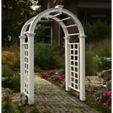 New Englan Arbors Nantucket Deluxe Vinyl Arbor