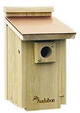 Coppertop Bluebird House