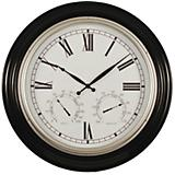 Steven Indoor-Outdoor Wall Clock