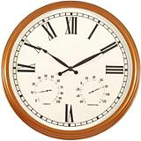 Charles Copper Indoor-Outdoor Wall Clock