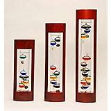 Cherry Frame Galileo Thermometer