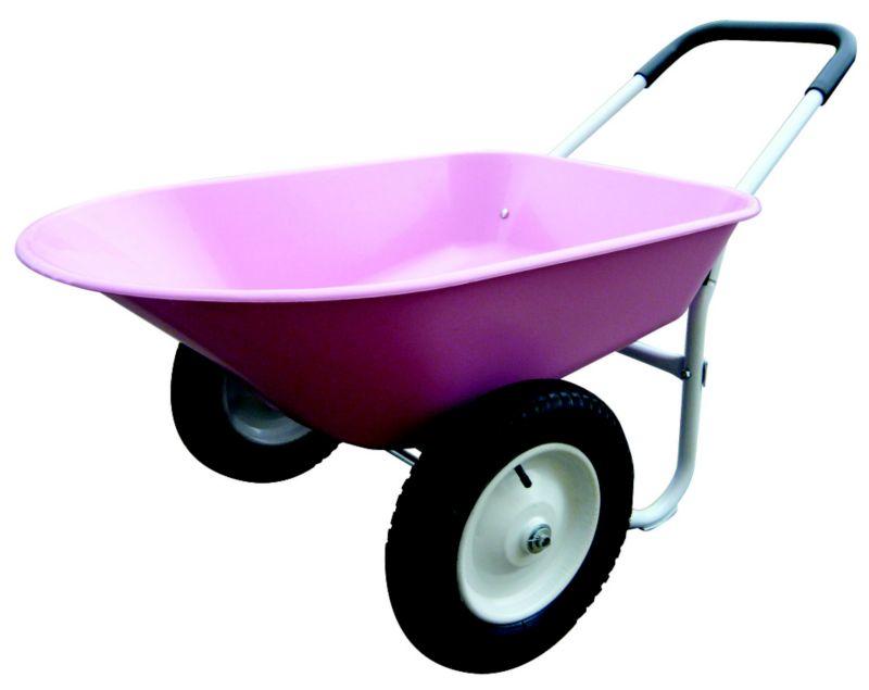 Pink Barrow 5 cu ft Residential Wheelbarrow