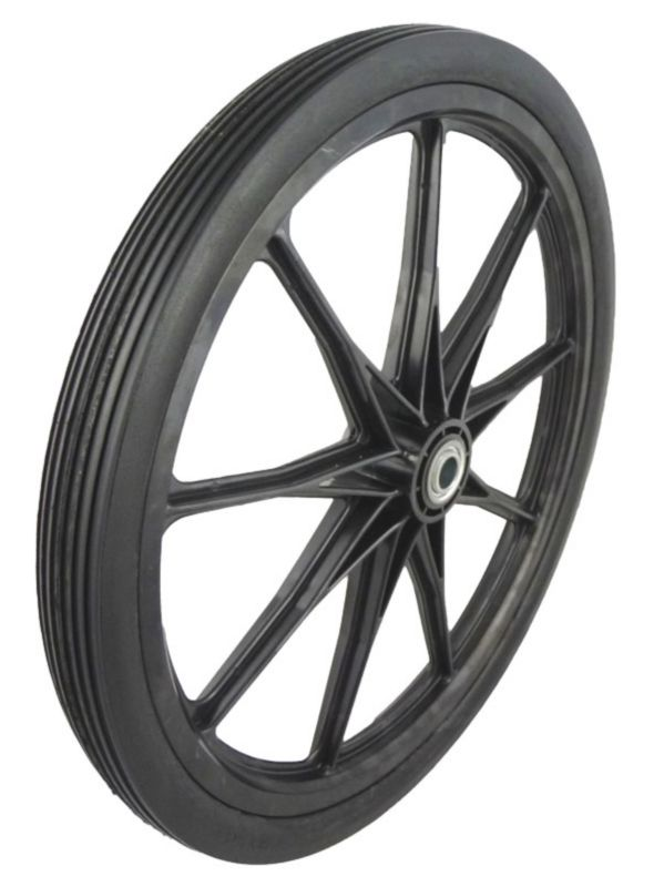 Cart Tires - 20x2.0in on Black Nylon Rim