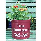 Personalized Floral Planter