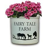 Mare & Colt Planter- Personalized