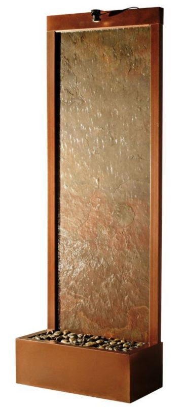 Gardenfall Copper Vein-Mulit Color Slate 32x90