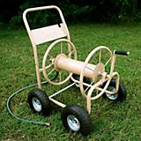 Industrial 300-4 Wheel Hose Reel Cart