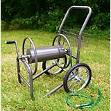 Industrial 300-2 Wheel Solid Hose Reel Cart