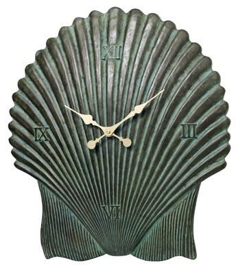 Antique Aegean Shell Clock
