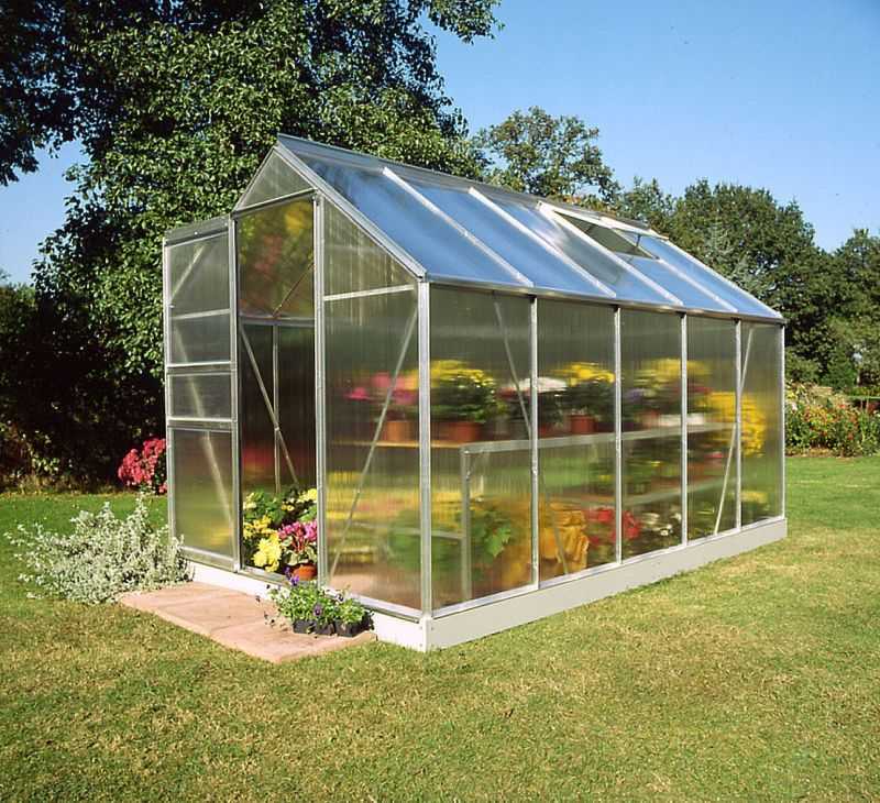 Halls Popular 106 Greenhouse Aluminum