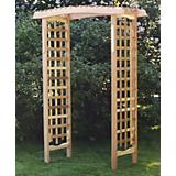 All Thinga Cedar Garden Cedar Pergola Arbor