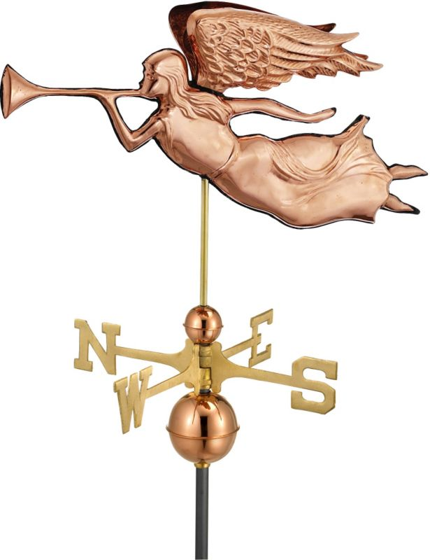 Angel Weathervane Copper