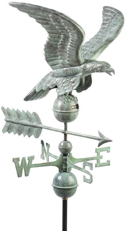 Smithsonian Eagle Weathervane Copper
