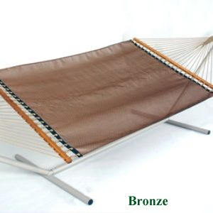 Large Open Weave Hammock Bronze