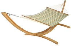 Large Quilted Hammock Hamptons Summer Fabr
