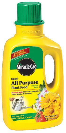 MIRACLE GROW LIQUID FERTILIZER 32OZ