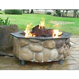 Rocky Mountain Outdoor Fireplace