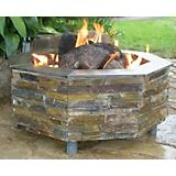 Smokey Mountain Outdoor Fireplace