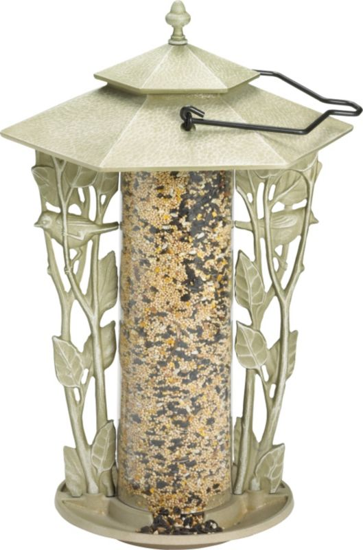 Chickadee Silhouette Feeder French Bronze
