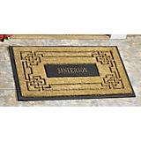 Coir Knot Rectangle Doormat