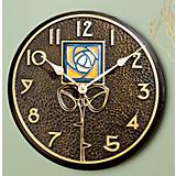 Dard Hunter Rose Clock