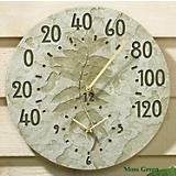 Fossil Summit Clock and Thermometer