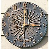 Golf Clock Verdigris