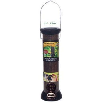 Onyx Nyjer Tube Bird Feeder 12in 2 Port (DYCC12N 021964252441 Wild Bird Supplies Bird Feeders) photo