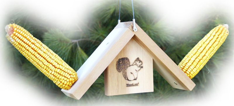 Teeter Totter Corn Feeder
