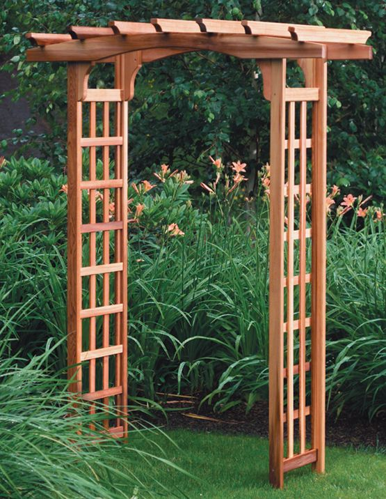 Image gallery japanese garden arbor for Japanese garden structures wood